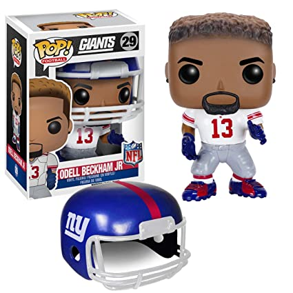 Image Unavailable. Image not available for. Color  Funko NFL New York  Giants Funko POP! Sports Odell Beckham Jr. Vinyl Figure   c0f3fa9bb