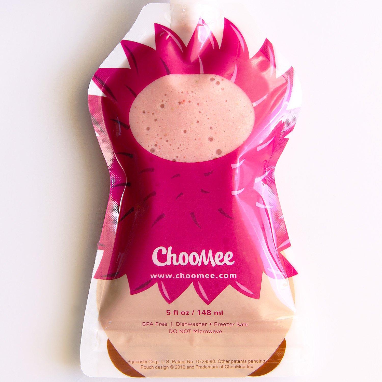 ChooMee Bolsitas de alimento reutilizable para el beb/é Guepardo Erizo