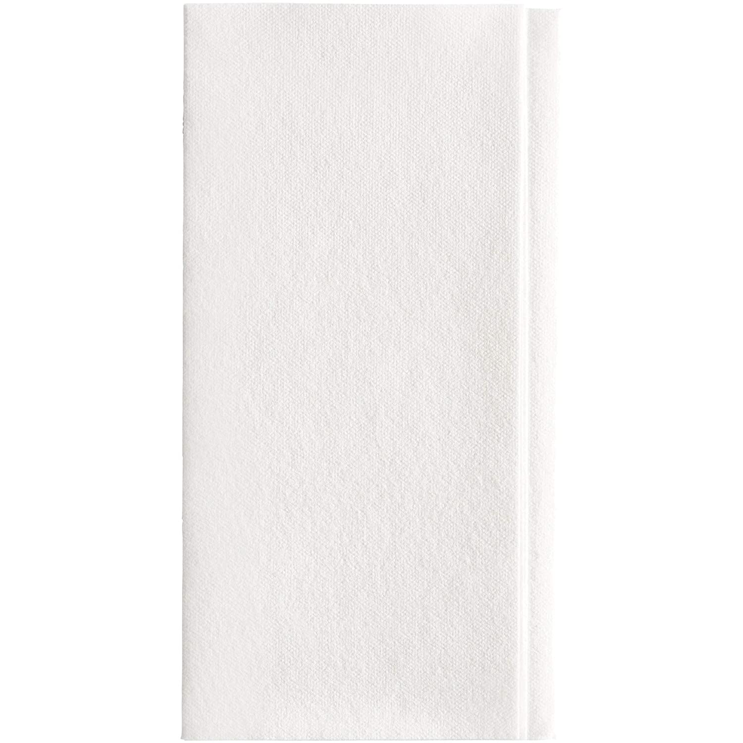 GEORGIA-PACIFIC Dixie Ultra 1/8-Fold Linen Replacement Dinner Napkin (Previously Essence Impressions) by GP PRO (Georgia-Pacific), White, 92117, 100 Napkins Per Pack, 4 Packs Per Case
