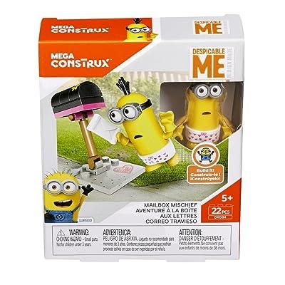 Mega Construx Despicable Me Minion Made Mailbox Mischief: Toys & Games