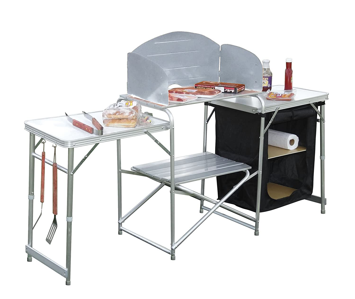 Amazon.com : GigaTent Pack N Go Prep Station : Camping Tables ...