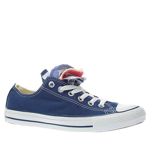 CONVERSE Converse all star ox multiple tongue canvas zapatillas moda mujer: CONVERSE: Amazon.es: Zapatos y complementos