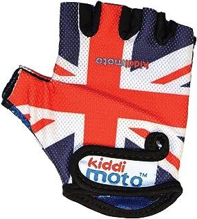 Kiddimoto-2gl008m Guanti Bici per Bimbi, Colore Union Jack, M 2gl008m 2042355 2gl008m_unionjack