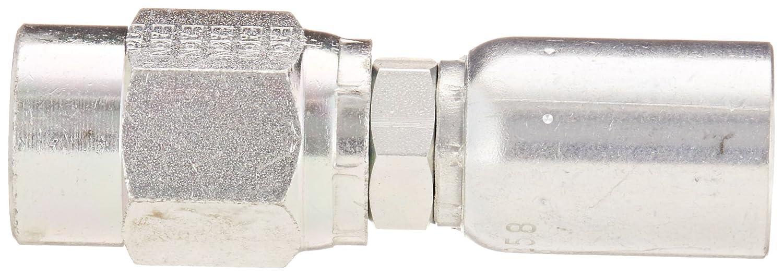 Low Carbon Steel EATON Weatherhead Coll-O-Crimp 16U-266 Female Pipe Swivel Fitting 1 Pipe Size 1 Hose ID