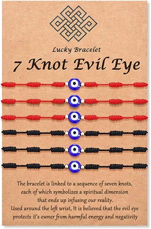amulet bracelet seven knots bracelet unisex bracelet Woman bracelet adjustable bracelet man bracelet