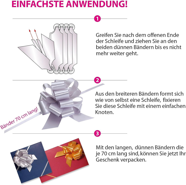 10 Kuverts G12011 10 hochwertige Gutscheinkarten Gutscheine f/ür Caf/é Caf/éhaus 10 Schleifen