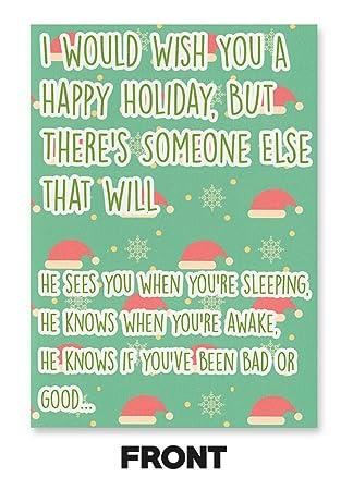 Amazon.com: Su Nombre es JOHN CENA día festivo tarjeta (con ...