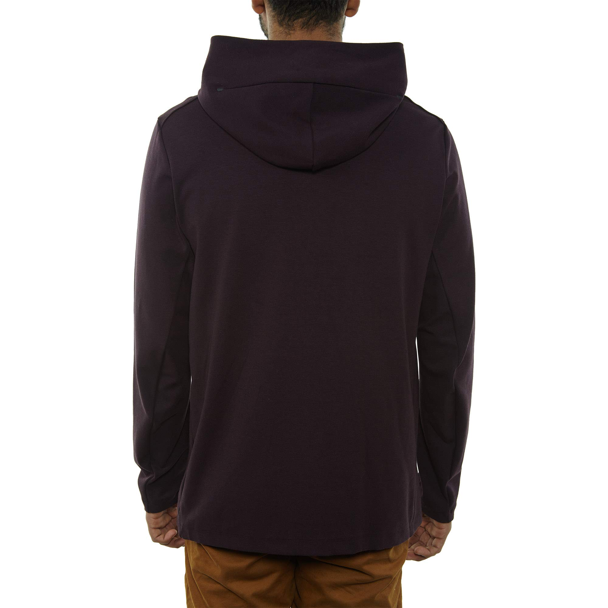 Nike Mens Tech Fleece Pack Full Zip Training Hoodie Burgundy Ash/Black AA3784-659 Size Small by Nike (Image #2)