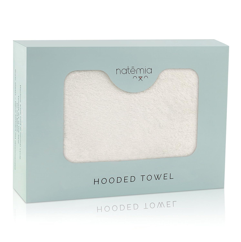 Natemia Extra suave rayón de bambú toalla encapuchada del ...