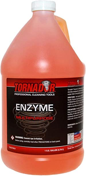 Tornador Enzyme Multi Purpose Cleaner - Heavy Duty Spot and Stain Remover (Gallon)