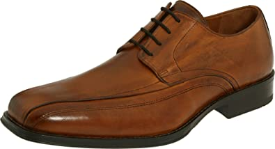 Johnston & Murphy Men's Harding Oxford,Tan Italian Calfskin,10.5 ...