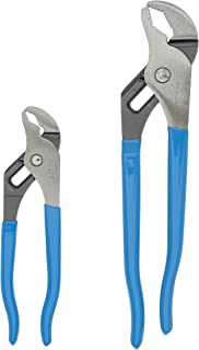 product image for Channellock VJ-1 V-JAW Plier, 2-Piece Set