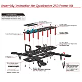 YKS Carbon Fiber Mini 250 Quadcopter Frame Kit