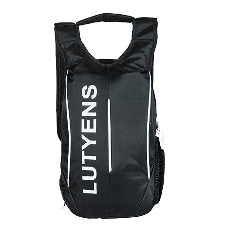bd6028568916 Lutyens Black Smart School Bag