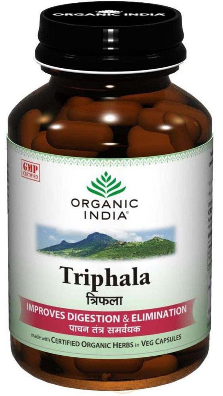 Healthcenter Organic India Triphala - 60 Capsules