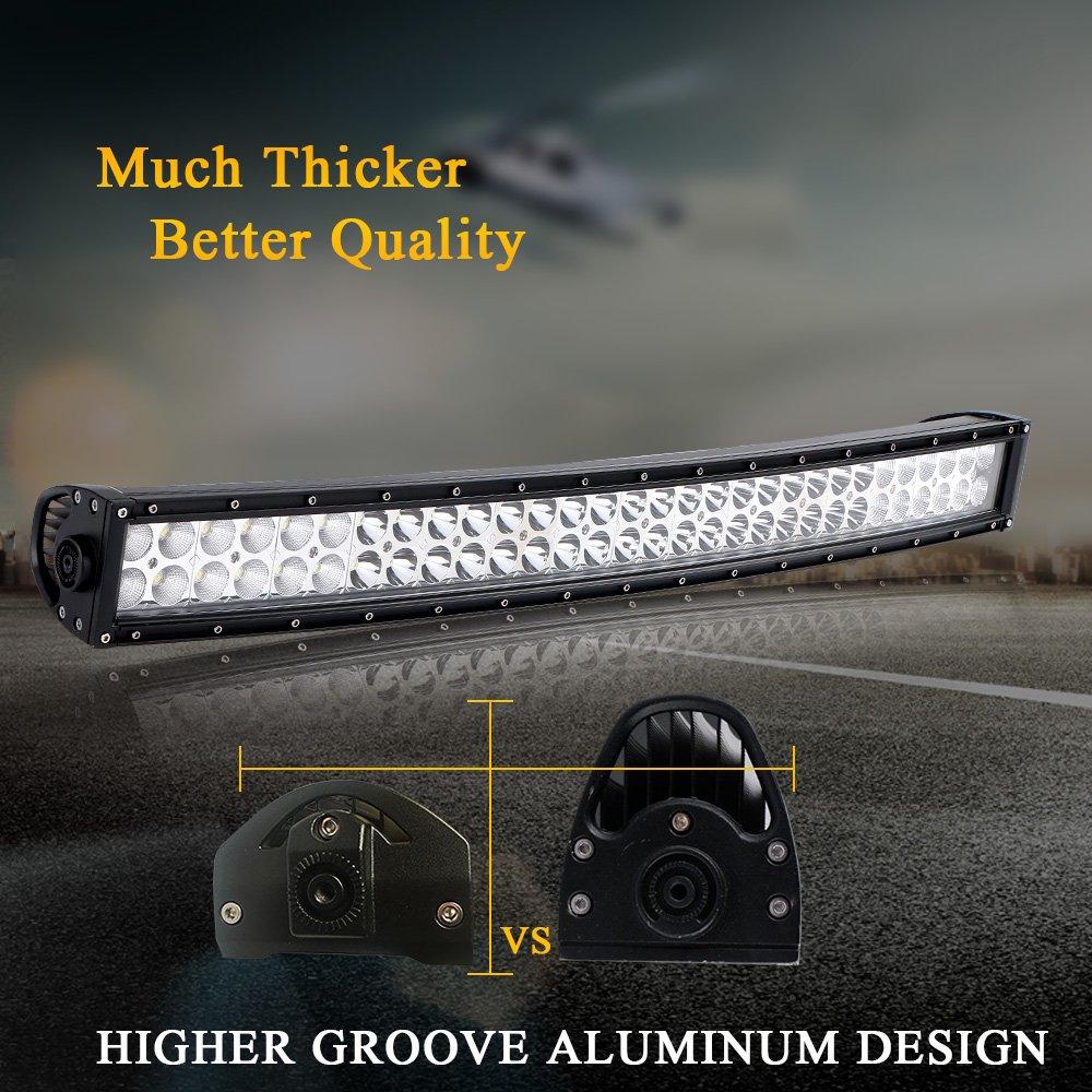 Quakeworld Dot Approved 52 Inch 300w Offroad Led Light Bar 4 Jeep Tj Rocker Switch Wiring 18w Driving Fog