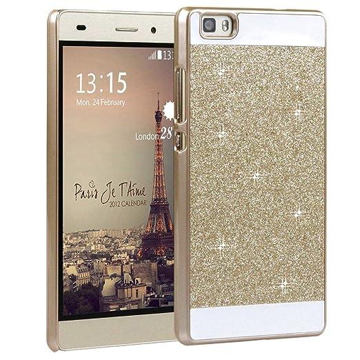 28 opinioni per Huawei P8 Lite cover PC,Custodia in policarbonato rigida hard case transparente