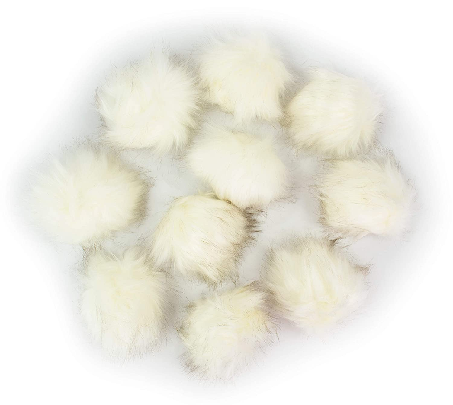 9081c180fa2 Amazon.com  DIY Craft Projects Faux Fur Pompom Balls