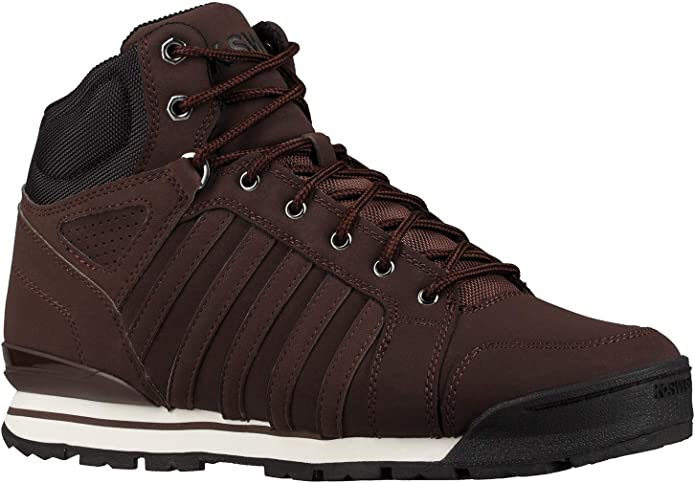 K-Swiss Norfolk Herren-Boots Herren-Schuhe Sneaker High Outdoor Leder NEU