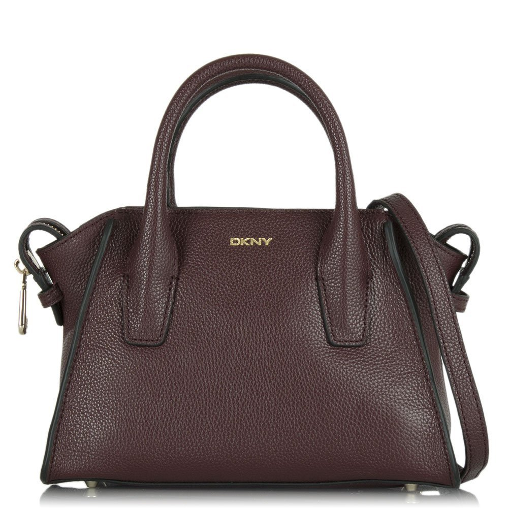 c6d934473c4 DKNY Chelsea Mini Satchel Red Crossbody Bag Red leather  Amazon.co.uk   Shoes   Bags