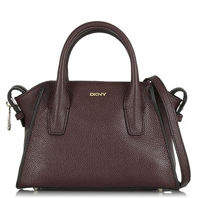 354069996cb DKNY Chelsea Mini Satchel Red Crossbody Bag Red leather  Amazon.co ...