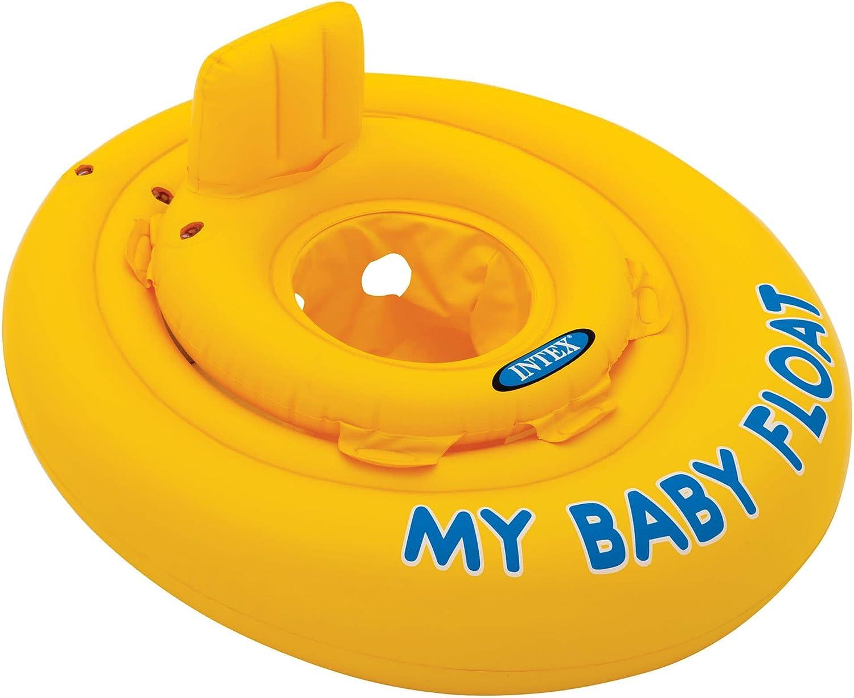 Intex 56585EU - Flotador hinchable bebé 70 cm circular de 6 a 12 ...