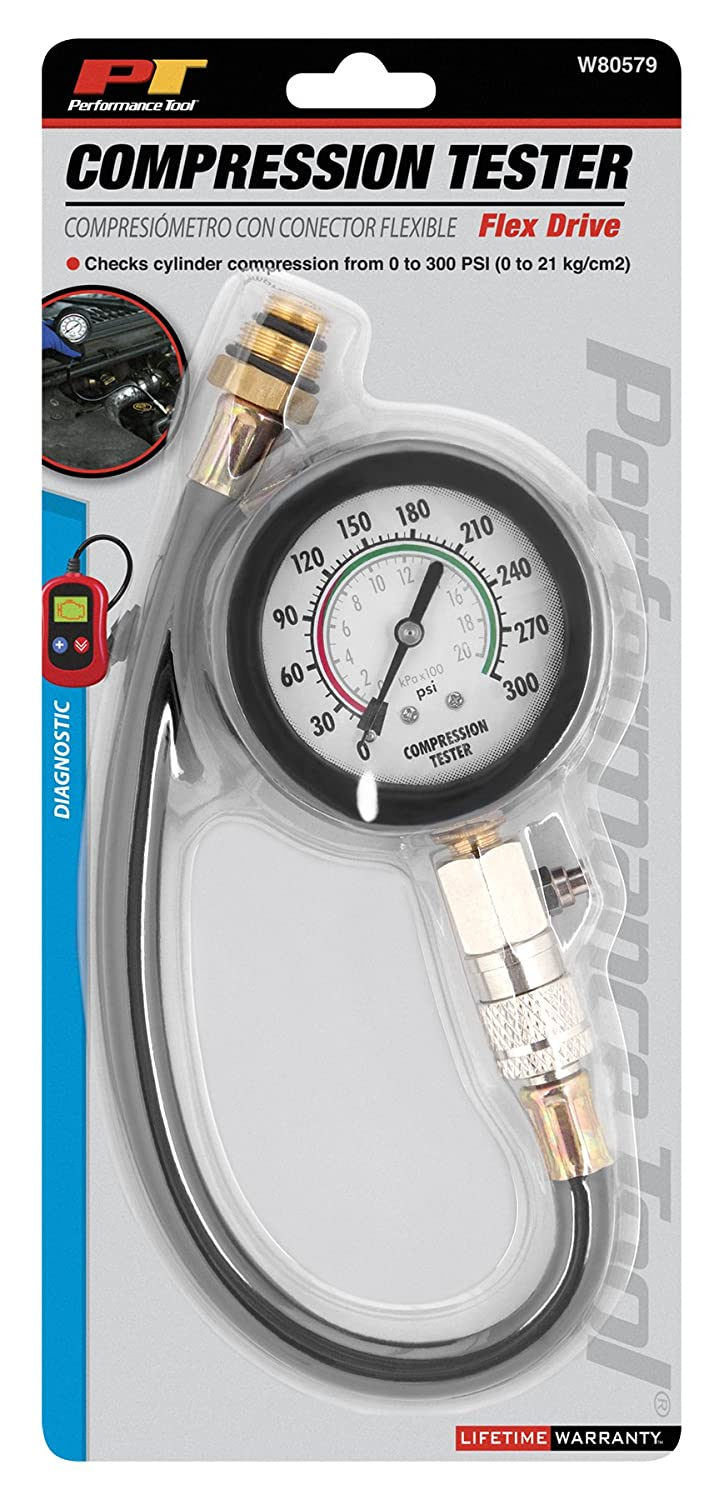 Performance Tool W80584 Deluxe Compression Tester Kit