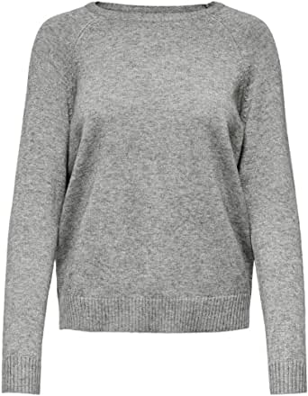 Only Onllesly Kings L/S Pullover Knt Noos Suter Pulver para Mujer
