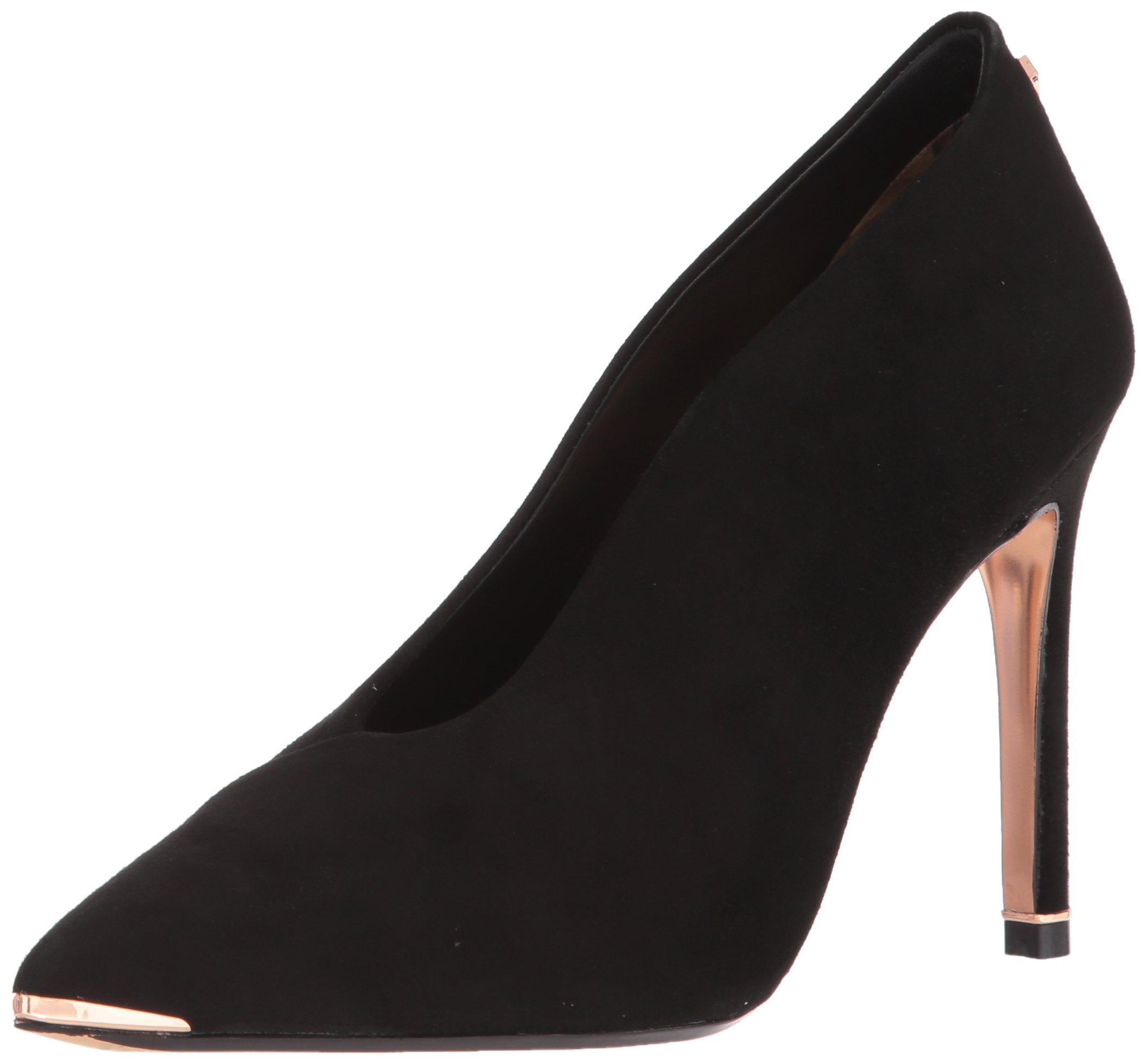 Ted Baker Women's Bexz Pump, Black Suede, 6 B(M) US