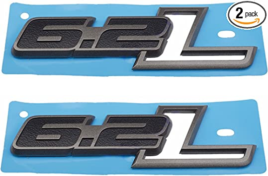 Decal Plate x1 New Black ST Emblem Replaces OEM Ford Fender Grille Trunk Badge