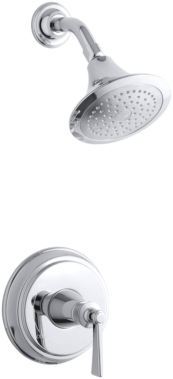 KOHLER K T11078 4 CP Archer Shower Faucet Trim, Polished Chrome   Bathtub  And Showerhead Faucet Systems   Amazon.com