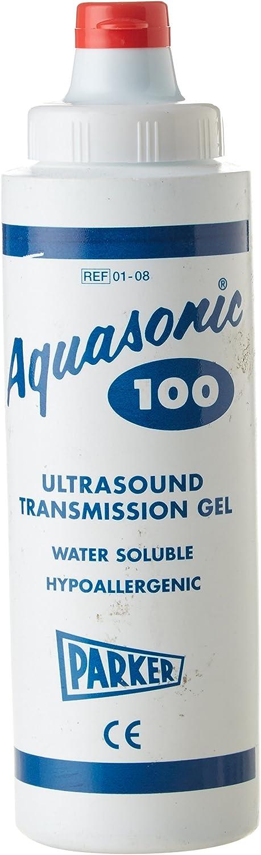 Aquasonic 100–Gel conductor de ultrasonidos (250ml) (1botella)