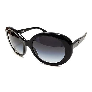 7205895e13c29 Amazon.com  Chanel 5238 Sunglasses Color 501 3C Black Size 54MM  Clothing