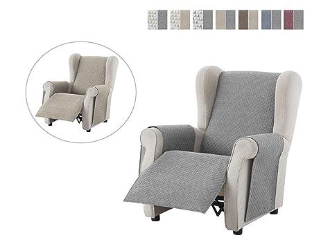 Textilhome - Funda Relax Cubre Sofá Dante, 1 Plaza ...