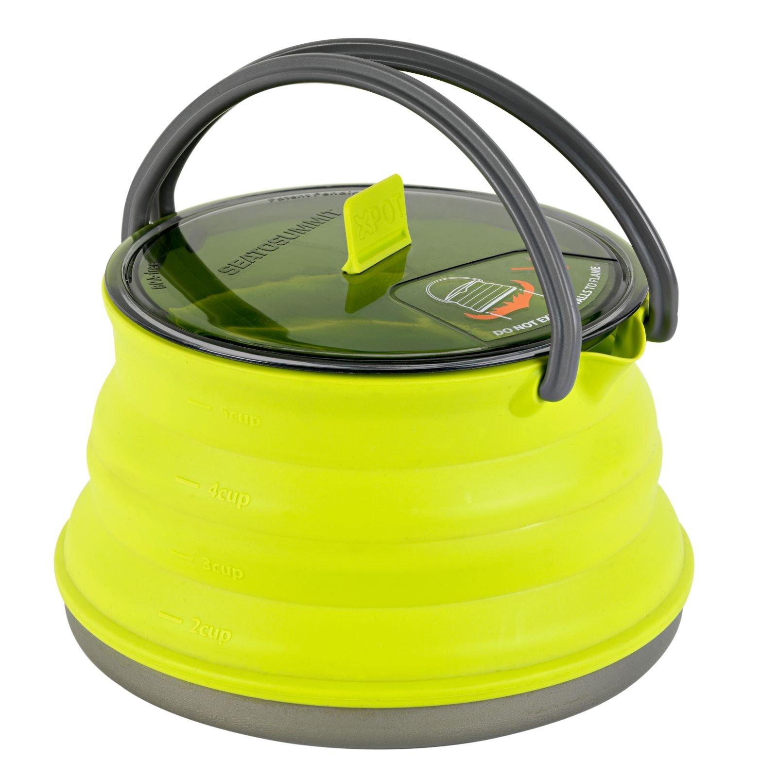 Sea to Summit X-Pot/Kettle, 1.3 L, Lime Green