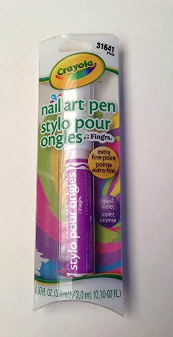 Amazon Crayola Nail Art Pen Purple Nail Art Equipment Beauty