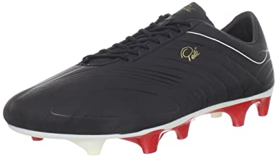 a21b515097c Pele Sports Pelé Sports Trinity 3E FG K Leather Football Boots Black ...