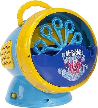 Kid Galaxy Mr. Bubble Super Bubble Machine Blower