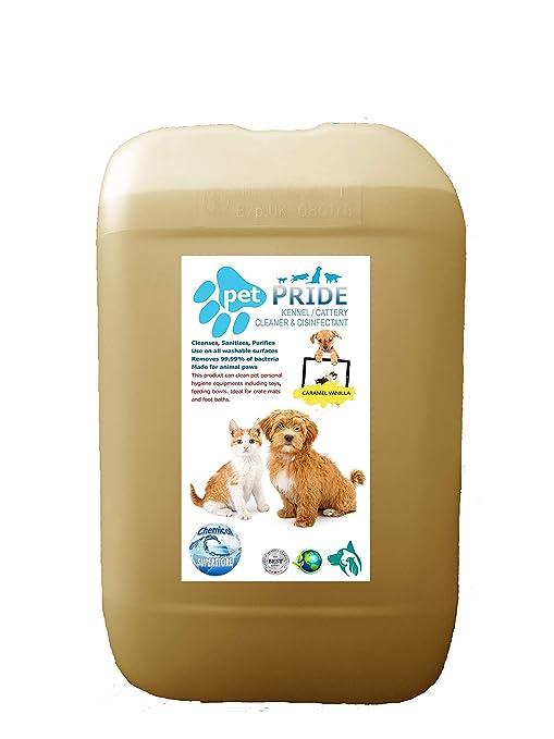 25L mascota orgullo de la perrera, cattery desinfectante, limpiador, ambientador – VAINILLA