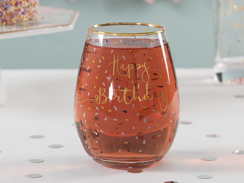 Creative Tops Ava und ich Flamingo verziert ohne Stiel Wein Glas ...