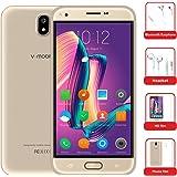 "Telefoni Cellulari in Offerta 10Pcs, v·mobile J5 Smartphone Android 7.0,cellulari offerte Dual SIM, 1GB RAM + 8GB ROM, 5.5"" HD Quad-Core 5.0MP Fotocamera 2800mAh Oro"