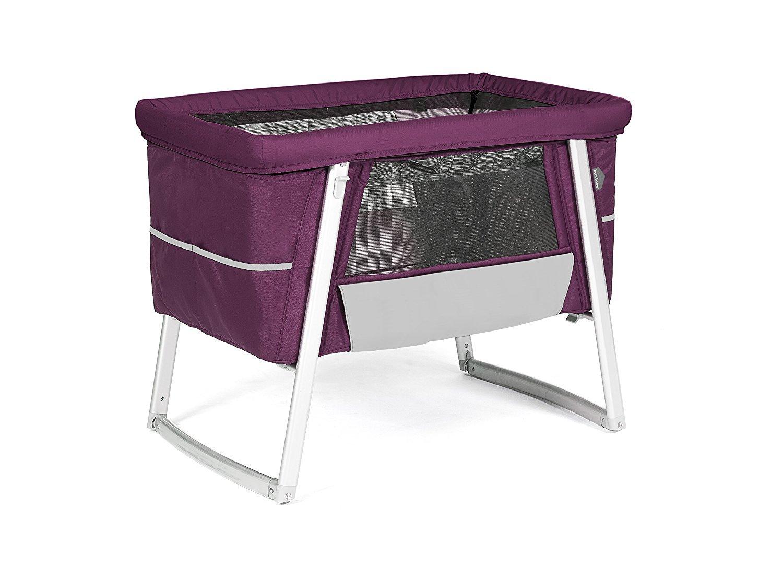 ヤトミ babyhome Air Purple パープル BH02001PUCL【正規代理店】 エアー バシネット 専用バッグ付   B07CNXGKLP