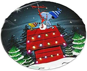 ETONKIDD Snoopy Thanksgiving Christmas Decoration Tree Skirt, Suitable for Christmas Decoration, Holiday, Party Decoration Ornaments48