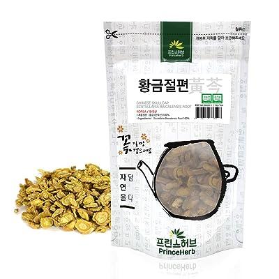 [Medicinal Korean Herb] Scutellaria Baicalensis Roots (Chinese Skullcap/Huangqin/황금) Dried Bulk Herbs 4oz (113g) : Garden & Outdoor