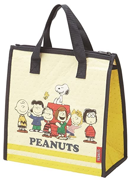 Amazon.com: Skater Cooler bag Peanuts Snoopy 17 Lunch Time ...