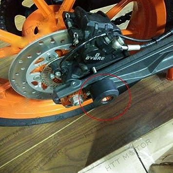 TREONK Tamponi Paratelaio Protezioni Telaio Anticaduta Frame Sliders Telaio di Scarico Slider Crash Pad Per YAMAHA YZF R1 R3 R6 R25 MT09 MT 09 MT07 MT 07 MT03 MT125 MT 125 FZ6N FZ1000 FAZER FZ1 FZ1N