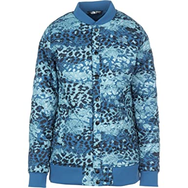 3001b604aa18 The North Face Anna Insulated Jacket - Women s Dish Blue Leopard Print