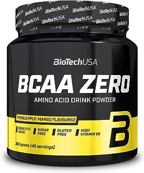 Biotech BCAA Zero Flash Barrita de Proteínas Piña/Mango - 360 gr