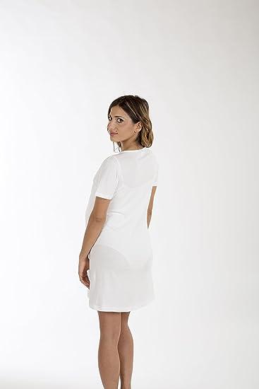 Premamy - Camisa Clinica para Maternidad, Modelo de Frente Abierto, Jersey algodón, pre-Post-Parto: Amazon.es: Ropa y accesorios