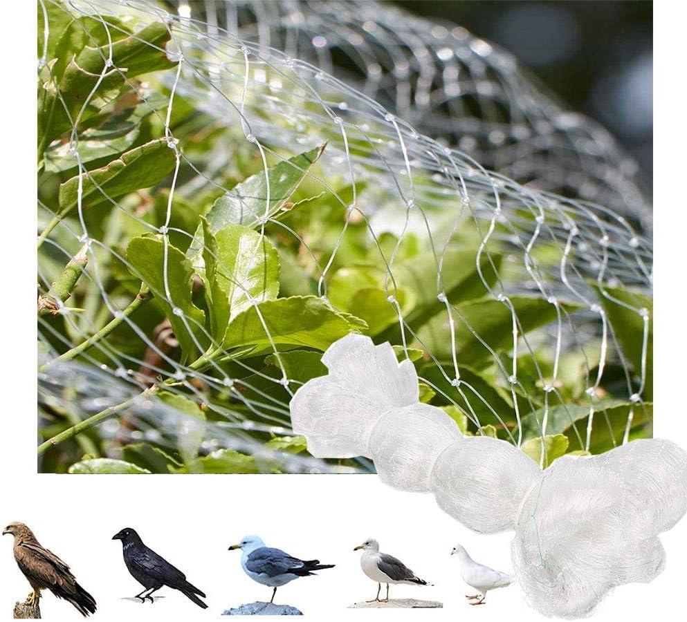 MIRACLE BLACK Garden Netting Kit 13Ft x 27Ft White Bird Nettin - Protect Plants Fruits Flowers Trees - Stops Birds Animals